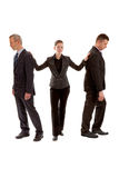 Young and old business people Royalty Free Stock Image