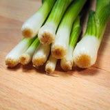 Young onion Stock Photos