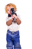 The young operator Royalty Free Stock Images
