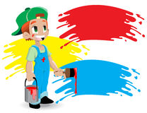 Young painter Stock Photography
