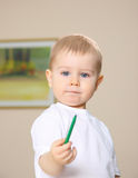Young painter Stock Image