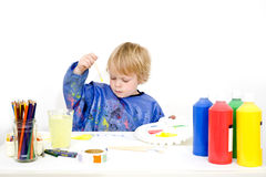 Young painter Royalty Free Stock Photography