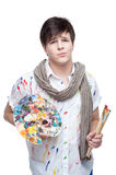 Young painter Royalty Free Stock Images
