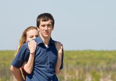 Young pair Royalty Free Stock Photo