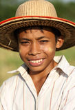 Young Palaung man, Hsipaw, Myanmar Stock Photos