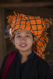 Young PaO Woman - Shan state - Myanmar (Burma) Stock Photos