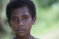Young Papuan Girl Stock Photos