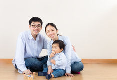 Young parent with baby son Royalty Free Stock Photos