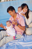 Young parents Royalty Free Stock Images