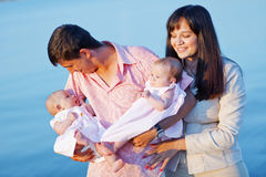 Young parents Royalty Free Stock Photos