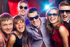Young party Stock Photography