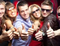 Young party royalty free stock images