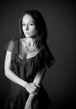 Young pensive woman Royalty Free Stock Photos