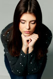 Young Pensive Woman With Closed Eyes Royalty Free Stock Images