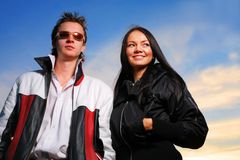 Young people royalty free stock images