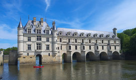 Chateau de Chenonceau Royalty Free Stock Photography