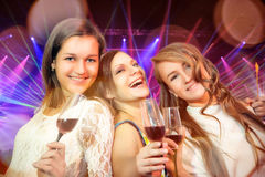 Young people in club Stock Image