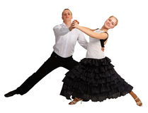 Young people dancing Royalty Free Stock Photos