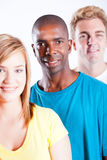 Young people diversity. Group of young people diversity Stock Image