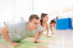 In fitness club Royalty Free Stock Photography