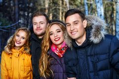 Youth in the woods Royalty Free Stock Photo