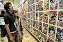 Tokyo manga comics stock photos