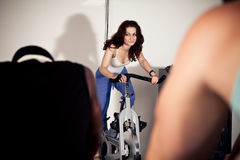 Young People At The Gym Royalty Free Stock Photography