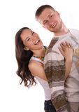 Young people have fun Royalty Free Stock Image
