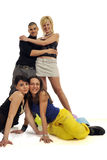 Young People Having Fun Stock Images