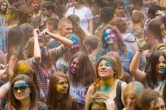 Young people having fun Stock Photo