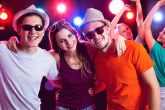 Young people at party. Young people having fun a party Royalty Free Stock Images