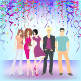 Young people having party Royalty Free Stock Photos