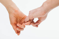 Young people holding hand each other, Royalty Free Stock Photos