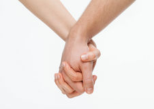 Young people holding hand each other, Stock Photography