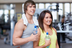 Young People In Good Shape Royalty Free Stock Photos