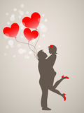 Young people in love Royalty Free Stock Images