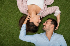 Young people in love stock photography