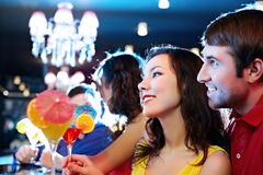 Young people at nightclub Stock Photography