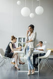 Young people in office Royalty Free Stock Image