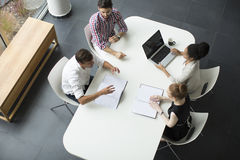 Young people in the office Royalty Free Stock Image