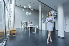 Young people in the office Royalty Free Stock Photography
