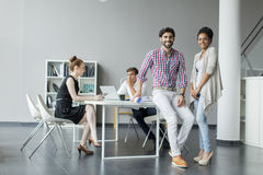 Young people in the office Stock Photography