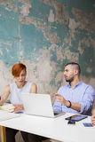 Young people in office Royalty Free Stock Images