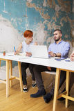 Young people in office Stock Image
