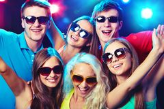 Young people at party. Stock Photo