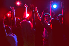 Young people at party. Stock Image
