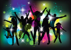 Young people on the party. Royalty Free Stock Images