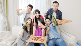 Young people party Royalty Free Stock Image