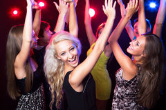 Young people at party. Royalty Free Stock Photography