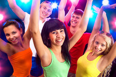 Young people at party. Royalty Free Stock Photos